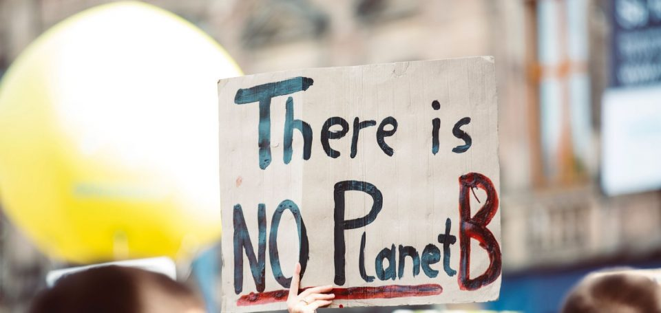 schild mit there is no planet b